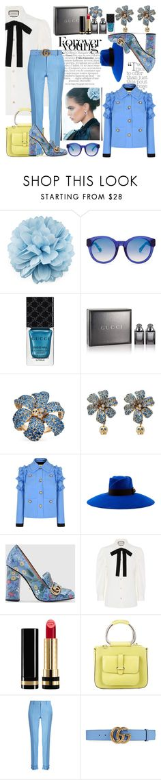 """Gucci"" by nefertiti1373 ❤ liked on Polyvore featuring Gucci"