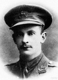 WWI, 8 Oct 1917, Captain James Edward Holme, Royal Warwickshire Regiment, was wounded and missing in action at Polderhoek Chateau, Western Front. He has no known grave and is commemorated on the Tyne Cot Memorial. © IWM (HU 115812)
