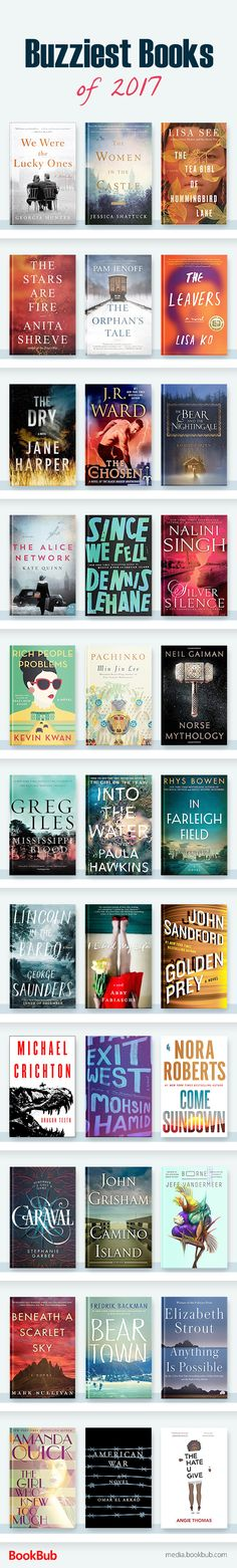 Great books to read 2017, including ideas for books to read next!