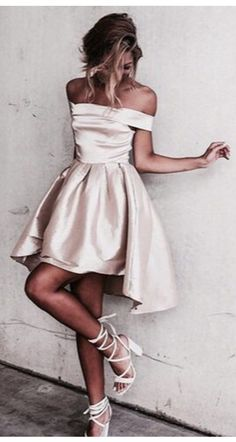 short prom dress homecoming dress, 2017 prom dress, champagne prom dress, off the shoulder short champagne party dress