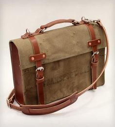 Model A Briefcase by W Durable Goods on Scoutmob Shoppe #dreamweekender