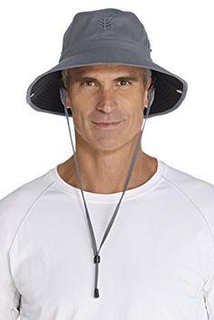 c8d32acc450 Coolibar UPF 50+ Men s Featherweight Bucket Hat – Sun Protective Review Dark  Khaki