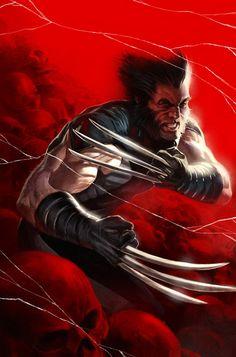 Wolverine Weapon X. I love Wolverine! Marvel Avengers, Ms Marvel, Marvel Wolverine, Avengers Images, Logan Wolverine, Marvel Comics Art, Marvel Comic Books, Marvel Heroes, Comic Books Art