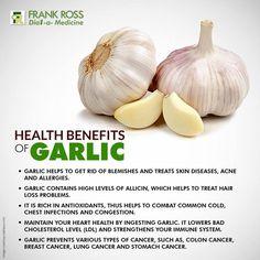 #Garlic , your best friend for good health. #FRHealthTips