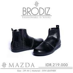 Brodiz Mazda, Warna: Black, Size : 39-44. Untuk Pemesanan Online Kunjungi : www.rockford-footwear.com *Gratis pengiriman ke seluruh Indonesia Email: contact@rockford-footwear.com Pin : 525B26DF Atau...