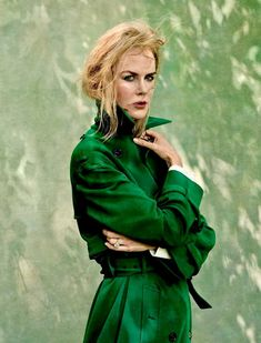 Nicole Kidman photographed by Annie Leibovitz for Vogue September 2017.