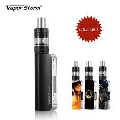 Electronic Cigarette Vape Storm  V50 TC 50W Box Mod Sub Ohm Temperature Control Electronic Hookah Shisha Pen Drop Shipping