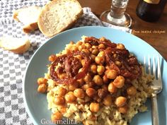 Gourmelita: Ρεβύθια Μεθυσμένα Chana Masala, Eat, Ethnic Recipes, Chickpeas, Food Ideas, Drinks, Drinking, Beverages, Chic Peas