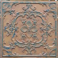 faux tin ceiling tiles with worn art ceiling tiles Artistic and recessed lighting plus wall art viewing gallery