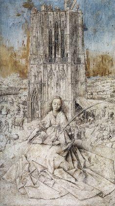 Saint Barbara - Jan van Eyck