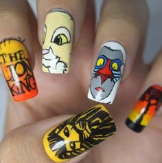 nail designs disney christmas | ... pictures here nail designs tips cute disney nail art picture gallery