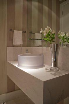 Lavabos: veja projetos charmosos para esses pequenos ...
