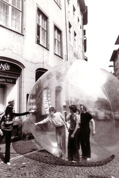Restless Sphere - Coop Himmelblau, Basel, Switzerland. 1971.