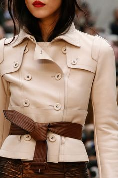 Dustjacket attic: Burberry Prorsum. Love this! #jacket #womenjackets #fashion #womenfashion #modernwoman #modern #woman #women #beautiful #style #stylish #bestfashion #modernfashion #clothes #outfits #womenclothes #comfortable #casuallook #everyday #bestlook #modernclothes