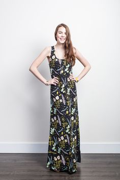Go for a maxi dress with style to spare. #etsy