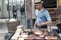 Arts on main Sunday food market @ Maboneng