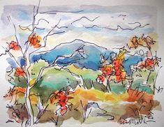 sketchbook paisajes