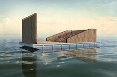 Floating Cinema : Smaller Architects