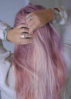 pink hair / розовые волосы
