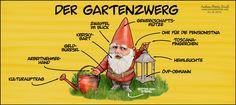 Google, Dwarf, Lawn And Garden