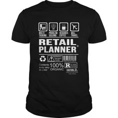 RETAIL PLANNER T-Shirts, Hoodies. Get It Now ==>…
