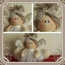 a modo mio Christmas Tree Toy, Christmas Sewing, Christmas Angels, Christmas Crafts, Christmas Decorations, Christmas Ornaments, Ballerina Ornaments, Angel Crafts, Angel Ornaments