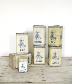 Vintage Canister Set I Have This Set For Sale At Pickers