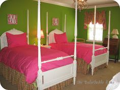 The Delectable Home: bedroom brights