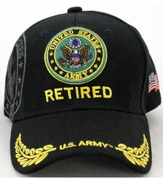 28c839bde80 United States Army Retired Baseball Cap CC128SAD7SB