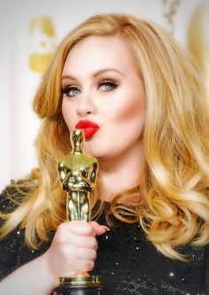First of all, Adele is a beautiful goddess and this beautiful face and these lips and this flowing hair have been absent from our lives for far too long. | 25 Reasons Adele Needs To Come Back Immediately