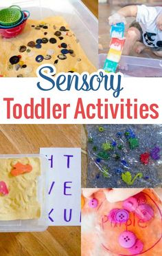 In this post, we show you ideas that will inspire you to present some of these sensory toddler activities in safe and educational ways.