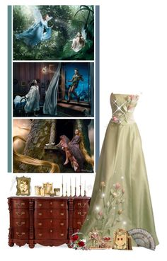 """""""Be Bold. Be Brave. Be You"""" by fashionqueen76 ❤ liked on Polyvore featuring ANNIE, Disney, Neiman Marcus, Dolce&Gabbana, Michael Aram and Gripoix"""