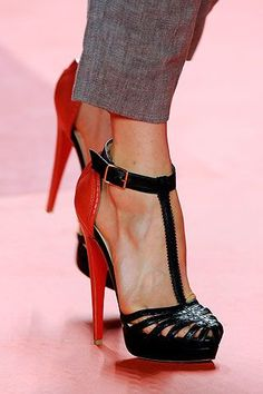 Christian Louboutin Fall 2016 ... Fashion high heels, fashion girls shoes  ,just here with $115 best price
