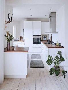 Embeleze sua cozinha com esses modelos de arte de cozinha de fazenda - Einrichten und Wohnen - Cozinha Rustic Kitchen, New Kitchen, Kitchen Ideas, Kitchen Art, Kitchen Inspiration, Kitchen White, Awesome Kitchen, Cheap Kitchen, Updated Kitchen