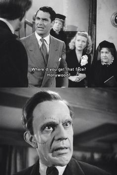 Arsenic and Old Lace, I absolutely love this crazy movie!