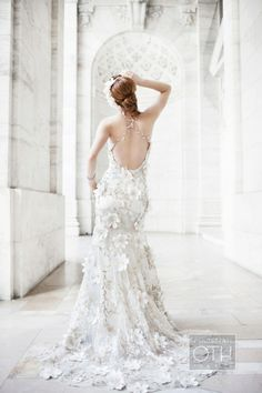 Wedding shoot by Christian Oth Studio at @New York Public Library #inspiration