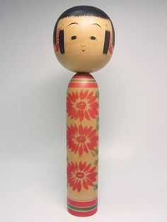 Kokeshi Yajiro, Tsuta Mamoru 蔦衛 (1928-2009), Master Tsuta Sakuzo, 24 cm