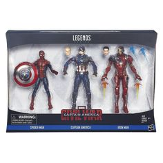 Captain America Civil War, Iron Man Captain America, Hasbro Marvel Legends, Marvel Legends Series, Marvel Comic Books, Comic Book Heroes, Marvel Comics, Batgirl, Iron Man