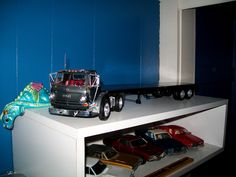 Dodge truck with trailer