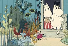 Tove Jansson, Clowns, Art World, Nostalgia, Cartoons, Snoopy, Velvet, Silk, Creative