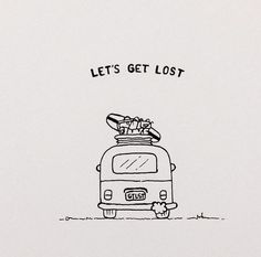 Let's get lost tattoo