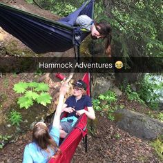 First time hammocking was really fun! Only my feet got wet this time  #hammock #hammocklife #hammocking #mchughcreek #squad #outdoors #fun by @cii_williams007