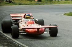 Ronnie Peterson at the wheel of a March 711.