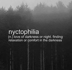 Ahh .. I'm definitely a creature of the night :D!
