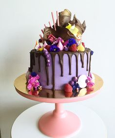 """Cake by Shelley. """"Thanks Billie and hope you have fabulous party! Happy Friday and have a great long weekend to all! """""""