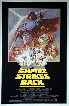 Star Wars: The Empire Strikes Back Original 1981 Re-Release US One Sheet Movie Poster | Flickr - Photo Sharing!