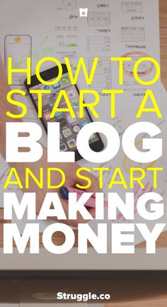 If you want freedom then you might want to start a blog. A blog opens up opportunities that you wouldn't come across doing other things. This post will help you with the beginning steps of starting a blog and heading down the path of making money.
