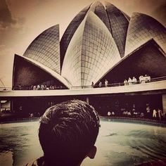#LotusTemple #IncredibleIndia #THELOtUsSIGHT by iaman7