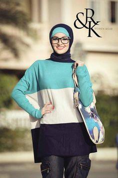R&K hijab fashion http://www.justtrendygirls.com/rk-naima-kamel-hijab-fashion/