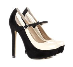 Sometimes life really is just black and white <3 Especially when it comes to my love of shoes.